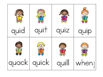 wh and qu Phonics Game by 180 Days of Reading | Teachers ...