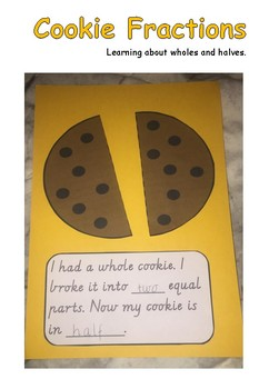 Cookie Fractions Halves By Miss Warby