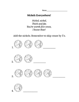 Counting Nickels By Stephanie S Stuff
