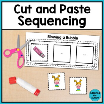 Cut And Paste Sequencing Worksheets For Special Education