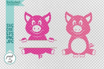 Download 37+ Pig Silhouette Svg Free Pics Free SVG files ...