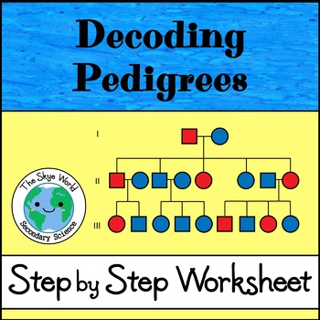 Decoding Pedigrees Worksheet By The Skye World Science