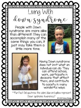 Down Syndrome AwarenessWorld Down Syndrome Day By Kelsey