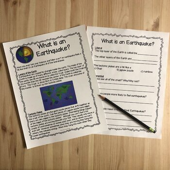 Earthquake Lesson Plans By Montessorikiwi