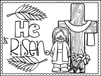 Easter Coloring Pages By Jannysue Teachers Pay Teachers