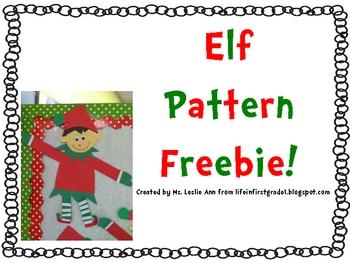Elf Patterns By Leslie Ann Teachers Pay Teachers