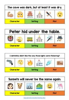 Emoji Story Writing Prompt Freebie By Innovative Teaching