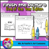 End of Year Art Activity: Finish the Picture!