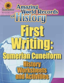 First Writing Sumerian Cuneiform History Worksheets And