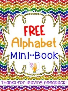 FREE Alphabet Mini Book By Mrs Leeby Teachers Pay Teachers