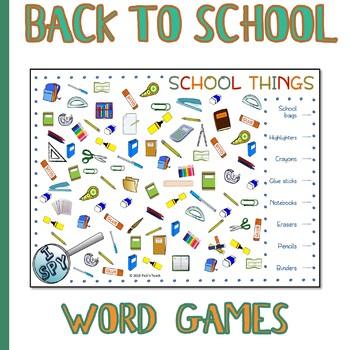 FREE - I SPY - School supplies - BACK TO SCHOOL by Pick'n ...