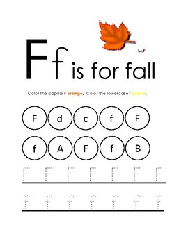Fall Worksheets Pre K Amp Kindergarten By Library Learning