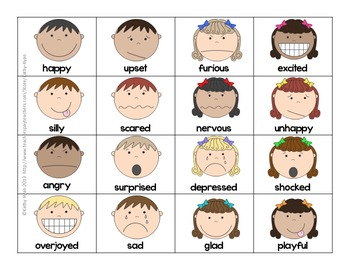 Feeling Words Sort and Match Up by Kathy Ryan | Teachers ...