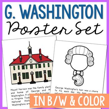 george washington poster worksheets