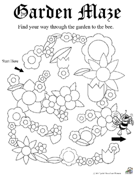 Garden Worksheets By C And L Curriculum Teachers Pay