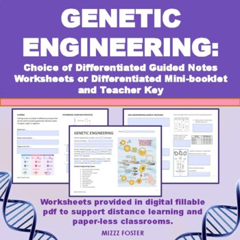 Genetic Engineering Worksheet With Answers Interactive
