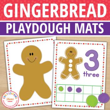 Gingerbread Math Activities Gingerbread Fine Motor