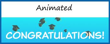 Google Classroom Animated Header Graduation Freebie