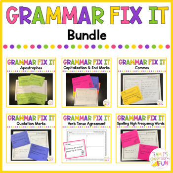 Grammar Practice BUNDLE