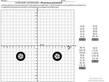 Graphing Integers Four Quadrants Of The Coordinate Plane