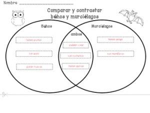 Gratis  Diagrama de Venn by Enchanting Resources | TpT
