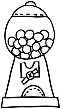 Gumball Machine Clip Art Freebie By Keeping Life Creative Tpt