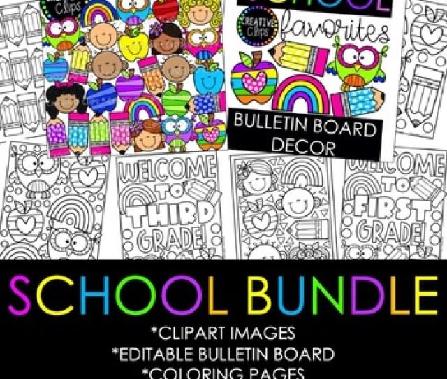 School Favorites Creative Clips Digital Clipart