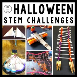 Halloween STEM Challenge Activities Bundle