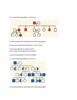 Heredity And Genetics Unit Test 7th Grade Science By