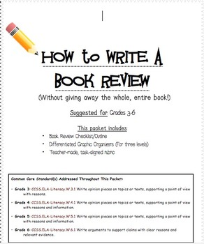how to write a book review # 49