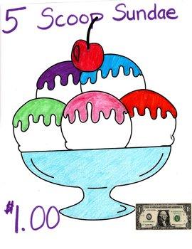 ice cream parlor activities