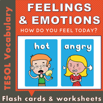 Feelings and Emotions Word Cards by Bluwren   Teachers Pay ...