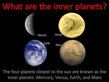 Inner Planets of the Solar System Interactive Power Point ...