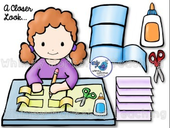 Interactive Notebook Kids Clip Art By Whimsy Workshop Teaching TpT