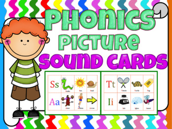 Phonics picture sound cards (Jolly Phonics or any phonics ...