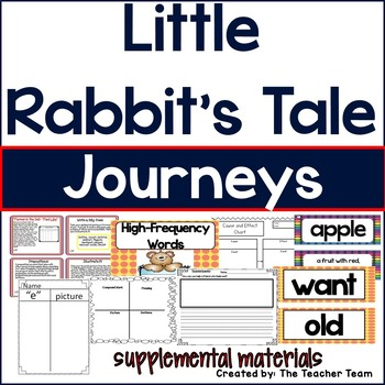 Little Rabbit's Tale Journeys 1st Grade Unit 4 Lesson 20 ...