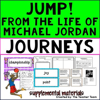 Jump! From the Life of Michael Jordan Journeys 3rd Grade ...