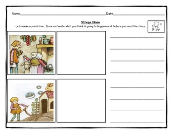 Kindergarten Prediction Lesson Amp Worksheets By Joann
