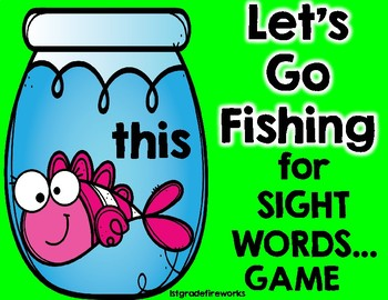 Let's Go Fishing ( for Sight Words)