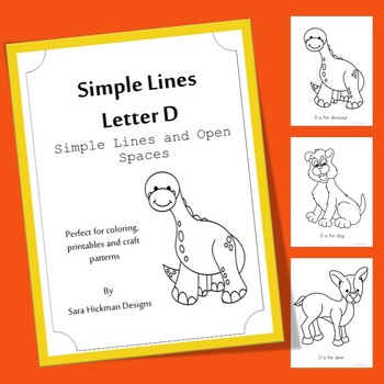Letter D Coloring Pages Worksheets Teaching Resources Tpt