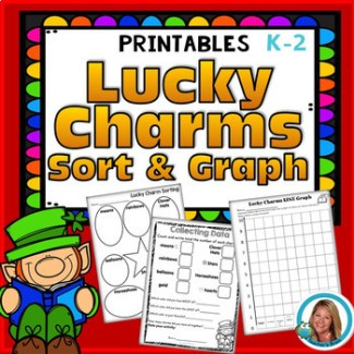 Lucky Charms Graph - St. Patrick's Day Math Sort and Writing