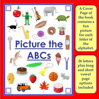 Make My Own Alphabet Picture Book by Creative Ideas for ...