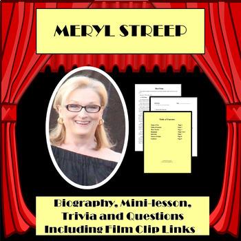 MERYL STREEP PEFORMING ARTIST BIOGRAPHY, TRIVIA & MORE