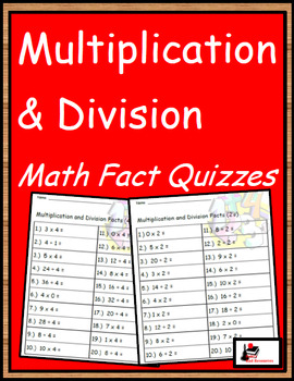 Mixed Practice Fact Quizzes