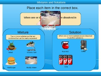 Mixtures And Solutions Powerpoint 3rd