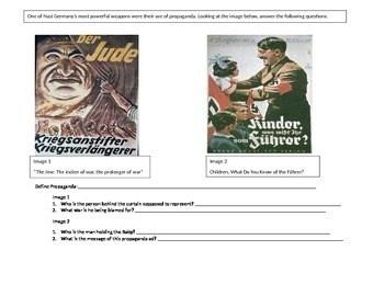 Nazi Propaganda Worksheet By Ms Social Stu S Teacher