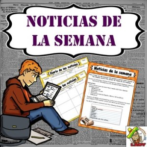 Noticias de la semana   Current Event Weekly Assignment   AP Spanish