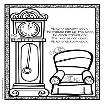 nursery rhyme coloring pages # 63