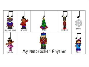 Nutcracker Rhythm Composition Activity By The Musical Rose