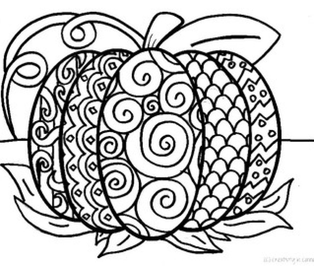 Pattern Pumpkin Coloring Page By Creativity In Connecticut Tpt
